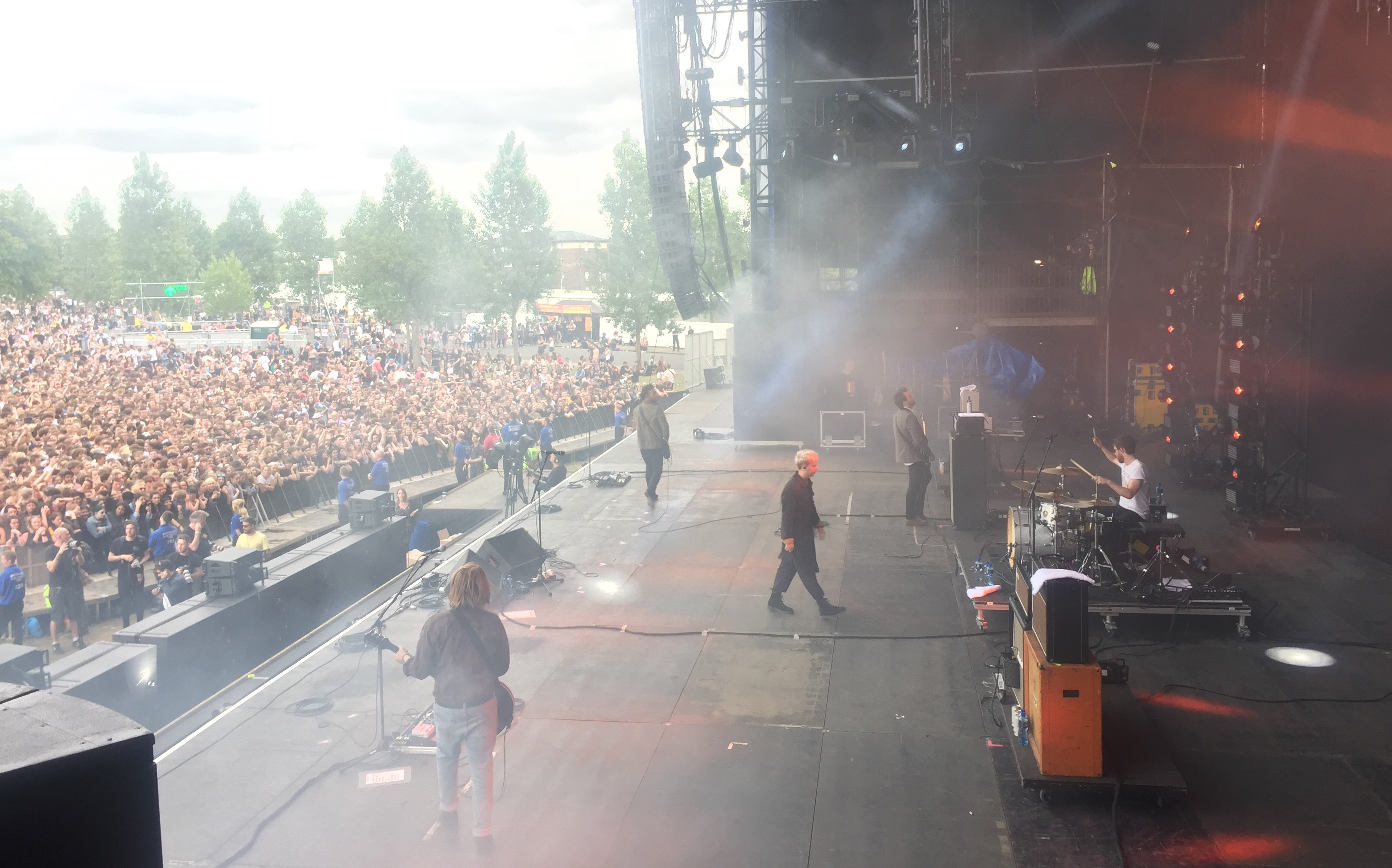 Nothing But Thieves at Community Festival