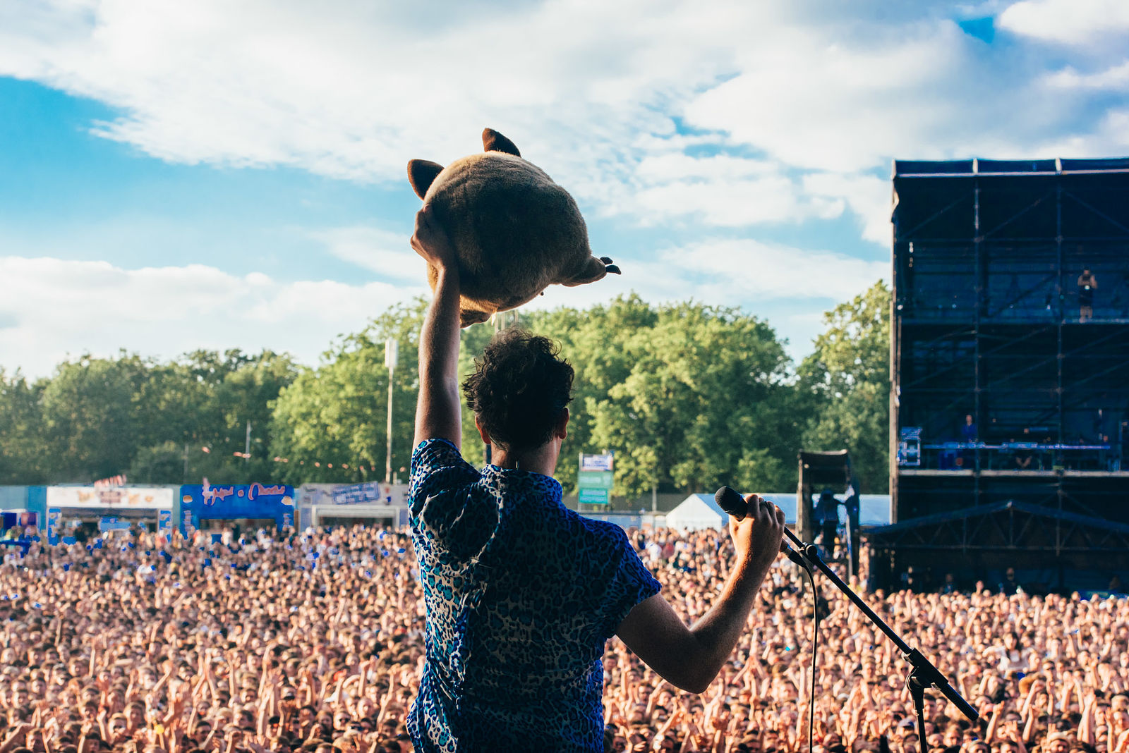 The Wombats at Community Festival